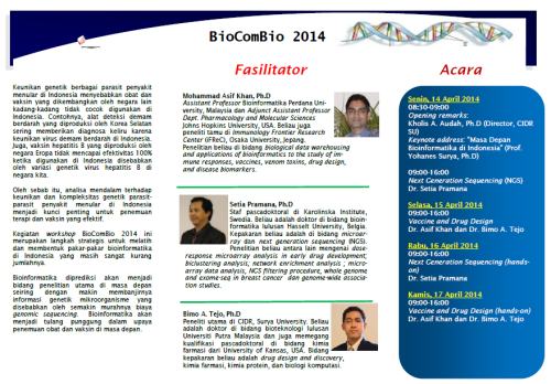 bioinfo workshop 2014